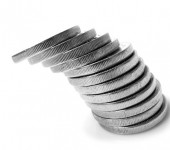 Stack-Of-Coins-Falling-Over